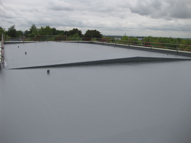 Commercial Flat Roofing New Industrial Flat Roofs
