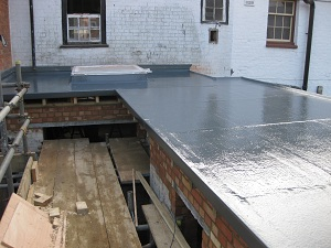 We offer a service to competent builders what we call our COVER ONLY service, where the builder does all the structural work including the boarding and insulation work and we will install the technical waterproofing layer and flashing, and the customer gets same guarantee on the roof as if we had done all the work.