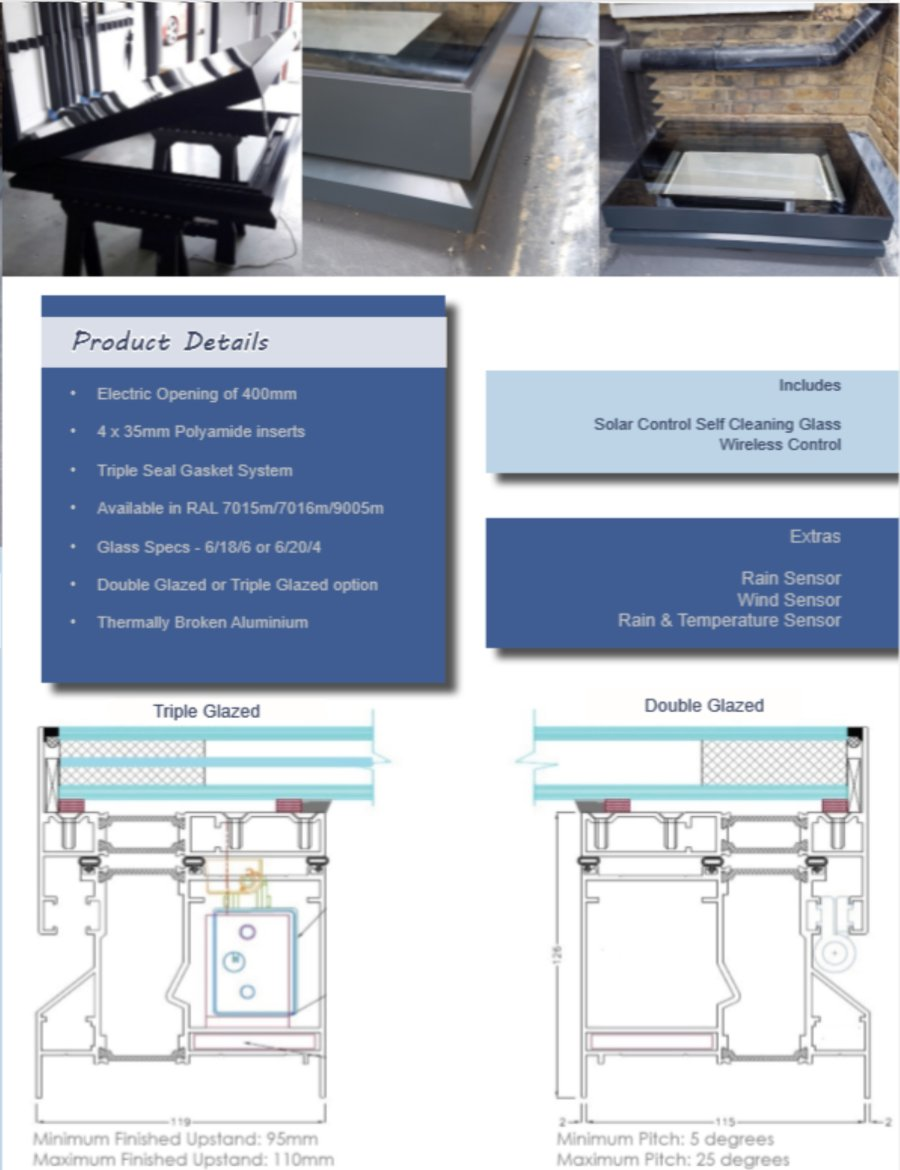 Electric Roof light product details